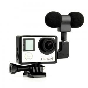 Микрофон Mini USB для GoPro HERO3+/4 Black/Silver