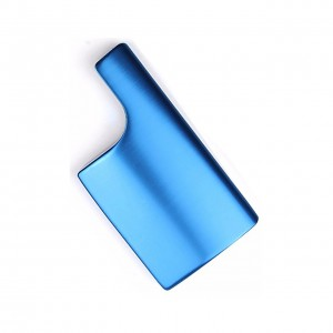 Защелка GoProHERO3+/4 Black/Silver Алюминиевая (Синяя)