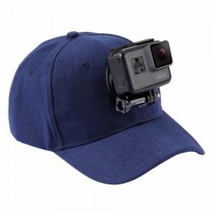 Бейсболка (Синяя) GoPro, Sjcam, Xiaomi yi