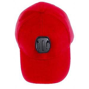 Бейсболка (Красная) GoPro, Sjcam, Xiaomi yi