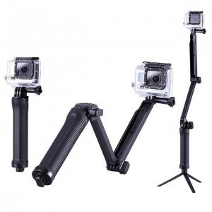 Монопод 3 Way, GoPro, Sjcam, Xiaomi yi