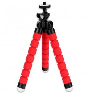 Гибкий Штатив Осьминог (Красный) GoPro, Sjcam, Xiaomi yi