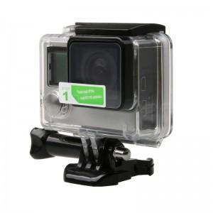 Защитная пленка на экран и объектив GoPro HERO4 Silver