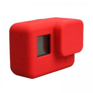 Силиконовый чехол на камеру GoPro HERO5/6/2018/7 (Красный)