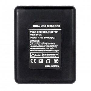 Зарядное устройство для аккумуляторов GoPro HERO4 Двойная v2