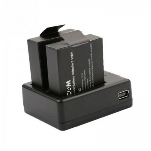 Зарядное устройство для аккумуляторов Sjcam SJ4000/SJ5000/M10 Двойная