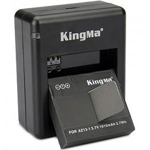 Зарядное устройство для аккумуляторов Xiaomi YI Двойная (KingMa)