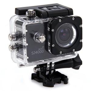 Экшн-камера Sjcam SJ4000 Wifi (Синяя)