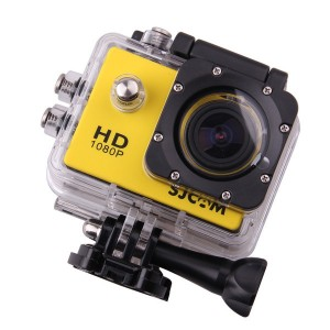Экшн-камера Sjcam SJ4000 (Желтая)