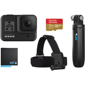 Экшн-камера GoPro HERO8 Black Holiday Bundle