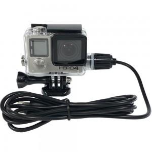 Водонепроницаемый бокс GoPro HERO3/3+/4 Black, Silver с кабелем питания