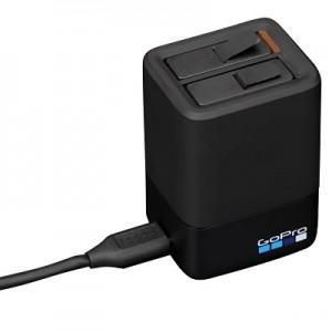 Комплект Зарядное устройство двойное + аккумулятор GoPro HERO5/6/2018/7 Black (Оригинал)