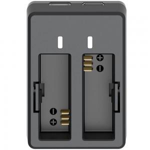 Зарядное устройство для аккумуляторов Sjcam SJ4000/SJ5000/M10 Двойная (Оригинал)