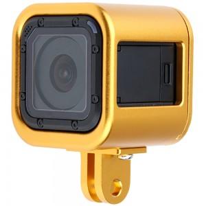 Рамка GoPro HERO4/5 Session Алюминиевая (Золотой)