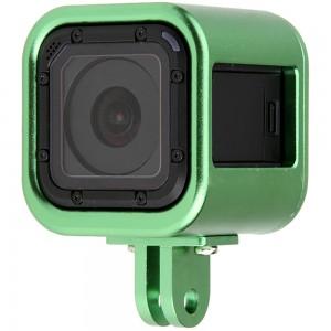 Рамка GoPro HERO4/5 Session Алюминиевая (Зелёная)