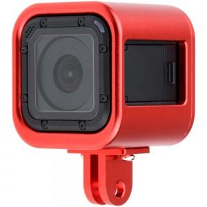 Рамка GoPro HERO4/5 Session Алюминиевая (Красная)