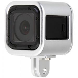 Рамка GoPro HERO4/5 Session Алюминиевая (Серебряный)