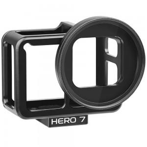 Рамка GoPro HERO5/6/2018/7 Black Алюминиевая (Shoot)