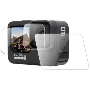 Защитное стекло на экран и объектив GoPro HERO9 Black