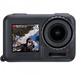 Силиконовый чехол на камеру DJІ Osmo Action (Черный) (Ulanzi)