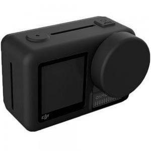 Силиконовый чехол на камеру DJI Osmo Action (Чёрный)