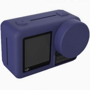Силиконовый чехол на камеру DJI Osmo Action (Синий)