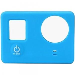 Силиконовый чехол на камеру GoPro Hero 3+, 4 (Синий)