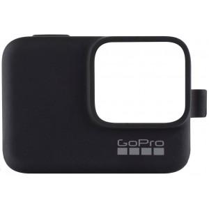 Силиконовый чехол GoPro Sleeve and Lanyard на камеру GoPro HERO5/6/2018/7 (Черный)