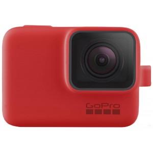 Силиконовый чехол GoPro Sleeve and Lanyard на камеру GoPro HERO5/6/2018/7 (Красный)