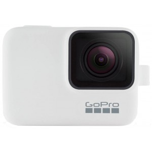 Силиконовый чехол GoPro Sleeve and Lanyard на камеру GoPro HERO5/6/2018/7 (Белый)