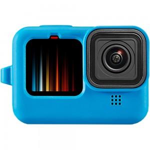 Силиконовый чехол GoPro HERO9 (Синий)