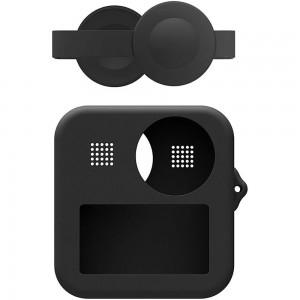 Силиконовый чехол на экшн-камеру GoPro MAX (Чёрный)