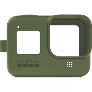 Силиконовый чехол с ремешком Sleeve + Lanyard GoPro HERO 8 (Зеленый)