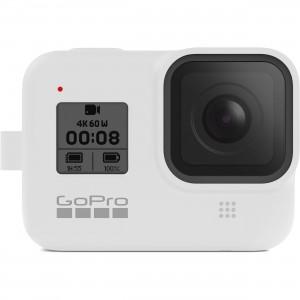 Силиконовый чехол с ремешком Sleeve + Lanyard GoPro HERO 8 (Белый)