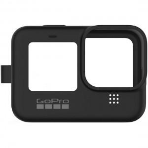 Силиконовый чехол с ремешком Sleeve + Lanyard GoPro HERO9 (Чёрный)