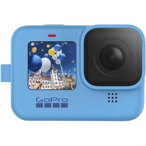 Силиконовый чехол с ремешком Sleeve + Lanyard GoPro HERO9 (Синий)
