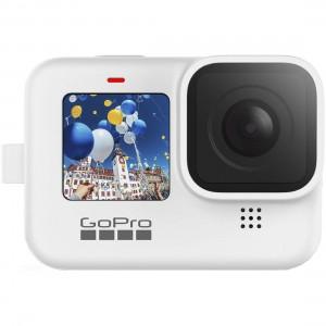 Силиконовый чехол с ремешком Sleeve + Lanyard GoPro HERO9 (Белый)