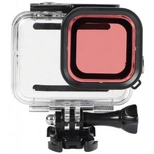 Фильтр для бокса GoPro HERO8 (Розовый) 42x42
