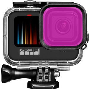 Фильтр для бокса GoPro HERO9 (Фиолетовый) 46x46