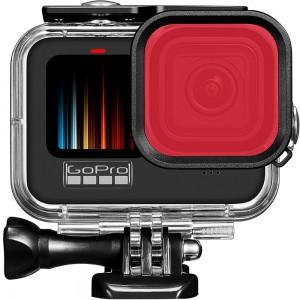 Фильтр для бокса GoPro HERO9 (Красный) 46x46