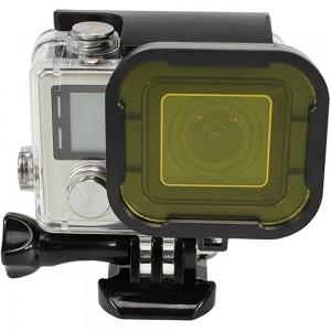 Фильтр для бокса GoPro HERO4 (Желтый)