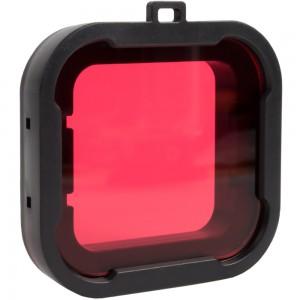 Фильтр для бокса GoPro HERO4 (Красный)