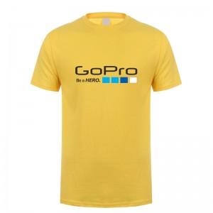 Футболка GoPro (Желтая) (L)