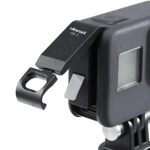 Крышка боковая с открытым портом Type-C для GoPro HERO8 (ULANZI) Алюминиевая