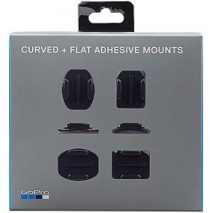 Комплект прямых и изогнутых платформ Curved + Flat Adhesive Mounts GoPro
