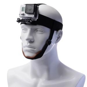 Крепление на голову с фиксатором на подбородке GoPro, Sjcam, Xiaomi yi