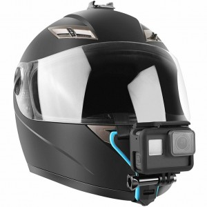 Крепление на подбородок шлема (Голубой)