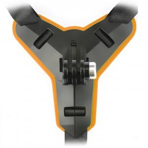 Крепление на подбородок шлема (Оранжевый)