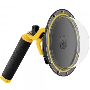 Подводный купол TELESIN со спусковым крючком для GoPro HERO5/6/2018/7 Black