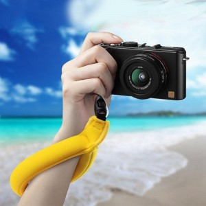 Поплавок - Страховка круглая для экшн-камеры GoPro, Sjcam, Xiaomi yi (Желтый)